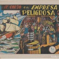 Tebeos: EL CORZO Nº 2. EMPRESA PELIGROSA. EDETA 1949. RARO ASÍ. Lote 130415674