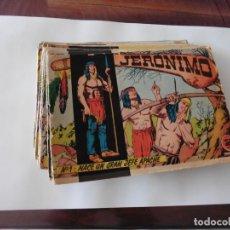 Tebeos: JERONIMO LOTE DE 47 CUADERNILLOS ORIGINALES EDICIONES GALAOR. Lote 130565506