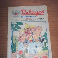 Tebeos: PELAYOS - SÓLO DOCE PÁGINAS - NÚMERO 37. Lote 131124748