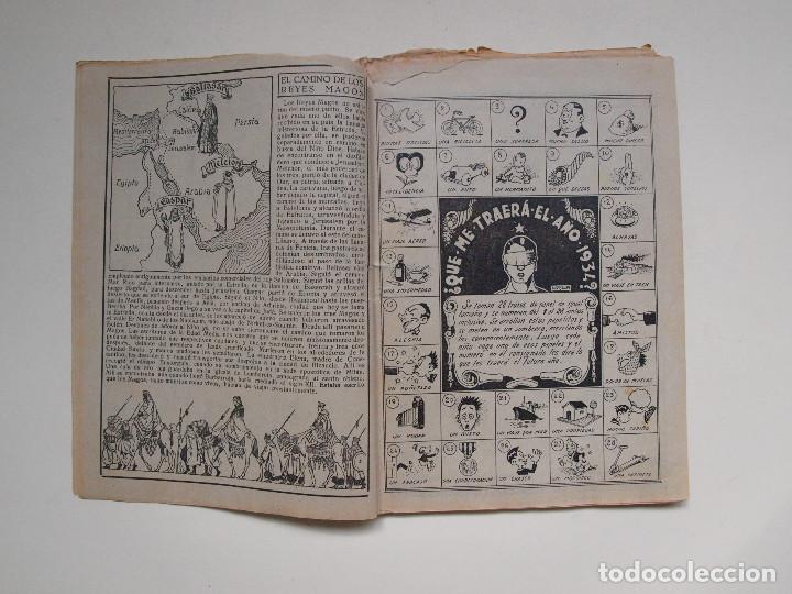 Tebeos: ALMANAQUE PARA TBO - AÑO XVII - PRIMERA EPOCA - EDITORIAL BUIGAS 1934 - Foto 3 - 131290403