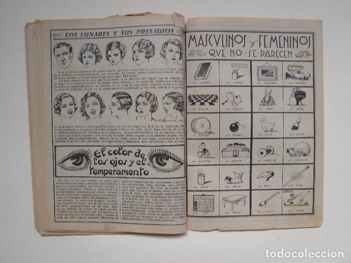 Tebeos: ALMANAQUE PARA TBO - AÑO XVII - PRIMERA EPOCA - EDITORIAL BUIGAS 1934 - Foto 4 - 131290403