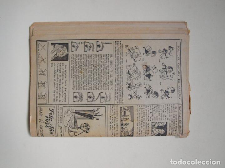 Tebeos: ALMANAQUE PARA TBO - AÑO XVII - PRIMERA EPOCA - EDITORIAL BUIGAS 1934 - Foto 5 - 131290403