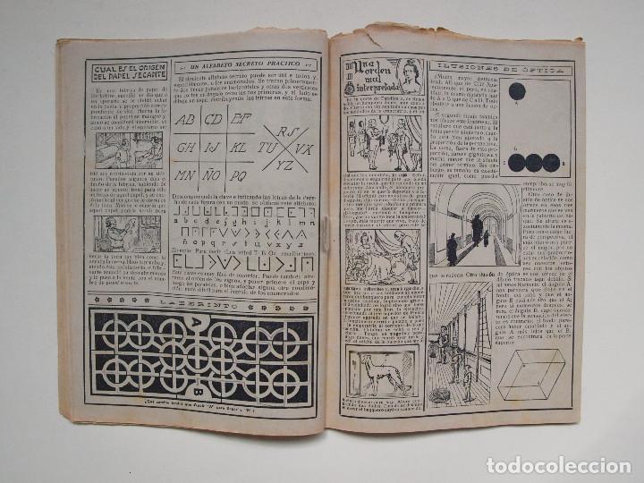 Tebeos: ALMANAQUE PARA TBO - AÑO XVII - PRIMERA EPOCA - EDITORIAL BUIGAS 1934 - Foto 6 - 131290403