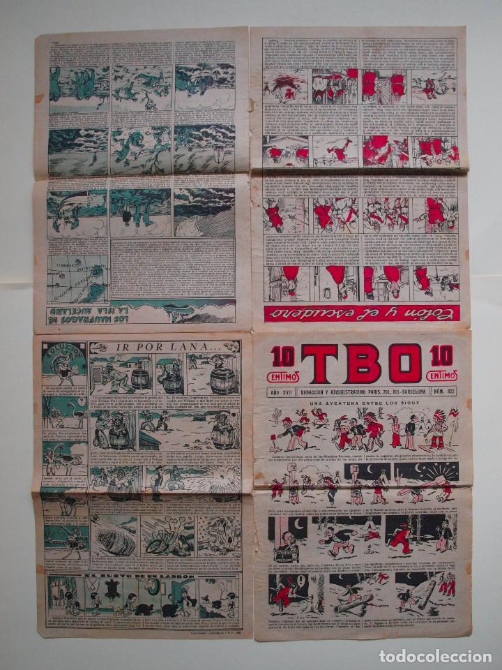 Tebeos: TBO Nº 822 - AÑO XVII - PRIMERA EPOCA - EDITORIAL BUIGAS 1928 - Foto 2 - 131293783