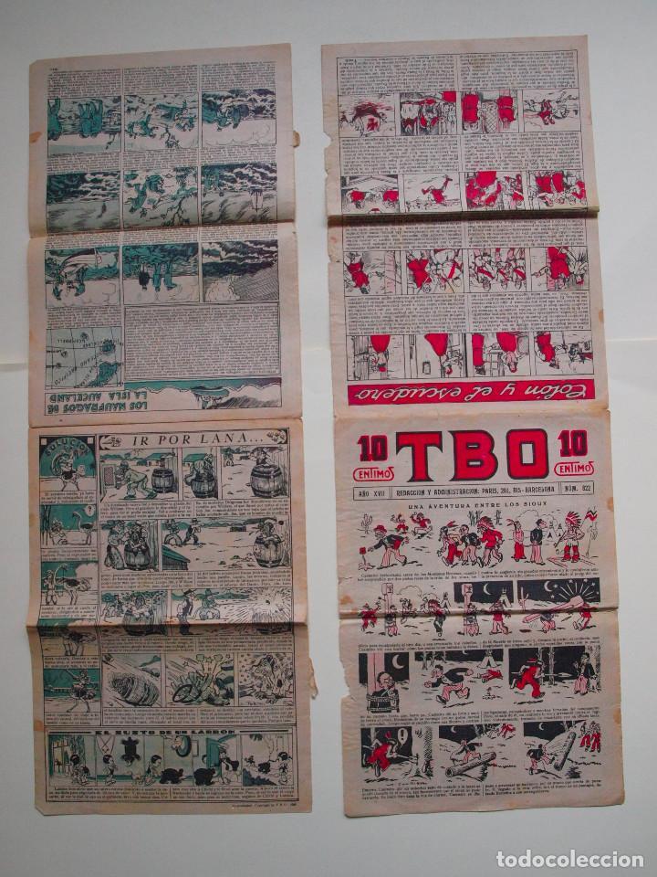 Tebeos: TBO Nº 822 - AÑO XVII - PRIMERA EPOCA - EDITORIAL BUIGAS 1928 - Foto 3 - 131293783