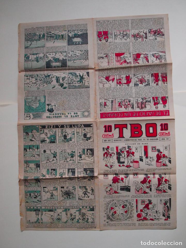 Tebeos: TBO Nº 832 - AÑO XVII - PRIMERA EPOCA - EDITORIAL BUIGAS 1928 - Foto 2 - 131294363