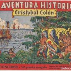 Tebeos: LA AVENTURA HISTÓRICA Nº 1. CRISTÓBAL COLÓN. AUGUSTA-1943. Lote 131345229