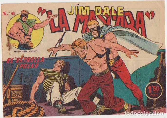 JIM DALE, LA MÁSCARA Nº 6. CREO 1961. SIN ABRIR (Tebeos y Comics - Tebeos Otras Editoriales Clásicas)