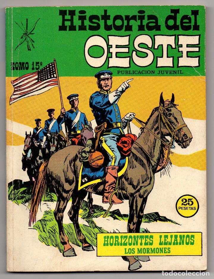 HISTORIA DEL OESTE Nº 15 (EUREDIT 1969) (Tebeos y Comics - Tebeos Otras Editoriales Clásicas)