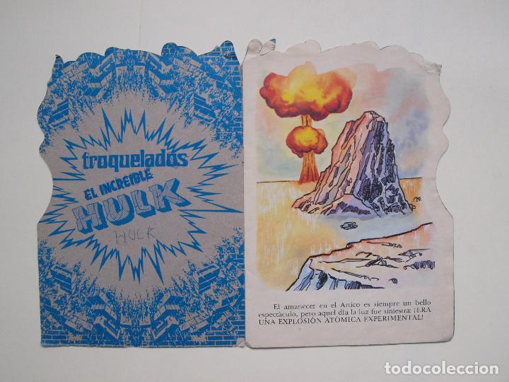 Tebeos: CUENTO TROQUELADO EL INCREIBLE HULK Nº 2 - EL PAQUETE - FHER - Foto 2 - 131759950