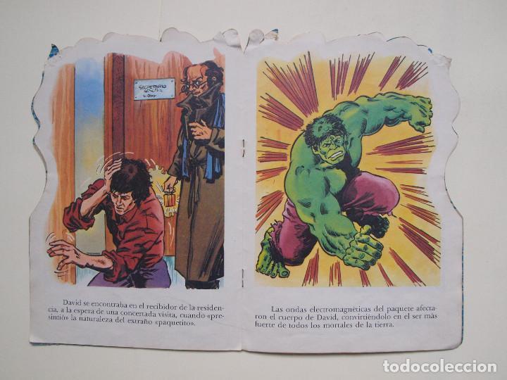 Tebeos: CUENTO TROQUELADO EL INCREIBLE HULK Nº 2 - EL PAQUETE - FHER - Foto 3 - 131759950