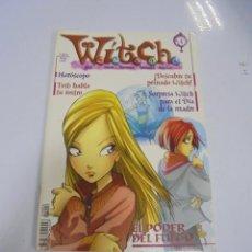Tebeos: REVISTA WITCH. Nº 4. EL PODER DEL FUEGO. MAYO 2003. Lote 132056598