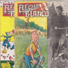 Giornalini: FLECHA Y BLANCO Nº 3 Y 4. AÑO 1955. Lote 132297973