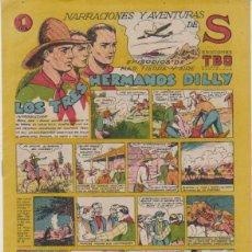 Tebeos: TBO S. LOS TRES HERMANOS DILLY. BUIGAS 1947. Lote 132298614