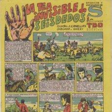 Tebeos: TBO S. LA TEA INVISIBLE DE SEIS DEDOS. BUIGAS 1947. Lote 132298642