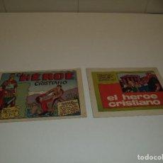 Tebeos: EL HÉROE CRISTIANO, AÑO 1.965. Nº 1 - 2. SON ORIGINALES EDITORIAL PUBLICACIONES JUVENILES.. Lote 132963538