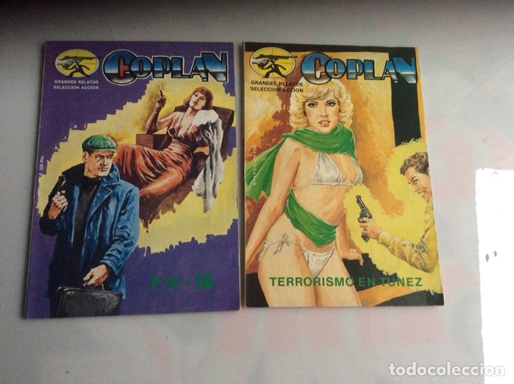 COPLAN , LOTE DE 2 EJEMPLARES ( Nº 2 Y 5 ) (Tebeos y Comics - Tebeos Otras Editoriales Clásicas)