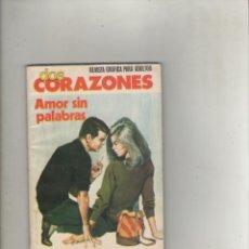 Tebeos: SERIE DOS CORAZONES-E.D. PRODUCCIONES EDITORIALES-B/N-AÑO 1980-FORMATO GRAPA-Nº 14-AMOR SIN PALABRAS. Lote 226286572