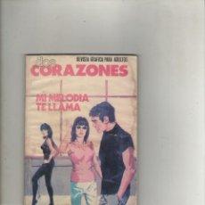 Tebeos: SERIE DOS CORAZONES-E.D. PRODUCCIONES EDITORIALES-B/N-AÑO 1980-FORMATO GRAPA-Nº 7-MI MELODIA TE ..... Lote 226286678