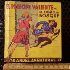 Tebeos: COMIC - EL PRINCIPE VALIENTE - EL OGRO DEL BOSQUE - 1942 - EDITORIAL MOLINO (ARGENTINA) - 10 X 10 CM. Lote 133671217