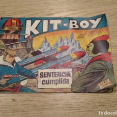 Tebeos: KIT-BOY SENTENCIA CUMPLIDA. ADAN DOXER. NUMERO 28. Lote 133680714