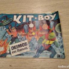 Tebeos: KIT-BOY DEIMOS EN LLAMAS. ADAN DOXER. NUMERO 29. Lote 133680806