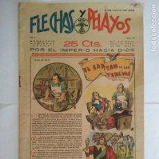 Tebeos: FLECHAS Y PELAYOS AÑO II - Nº 26, SEMANARIO NACIONAL INFANTIL, JUNIO 1939. Lote 133833246