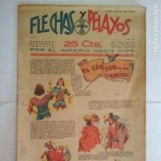 Tebeos: FLECHAS Y PELAYOS AÑO II - Nº 27, SEMANARIO NACIONAL INFANTIL, JUNIO 1939. Lote 133833354