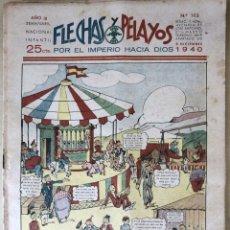 Tebeos: SEMANARIO NACIONAL N°105 FLECHAS Y PELAYOS 1938. Lote 134137909