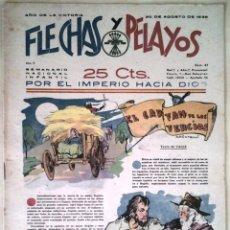 Tebeos: SEMANARIO NACIONAL N°37 FLECHAS Y PELAYOS 1938. Lote 134138123