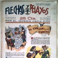 Tebeos: SEMANARIO NACIONAL N°36 FLECHAS Y PELAYOS 1938. Lote 134138251