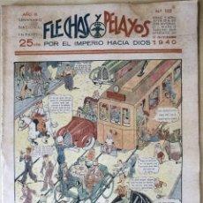 Tebeos: SEMANARIO NACIONAL N°102 FLECHAS Y PELAYOS 1938. Lote 134138275