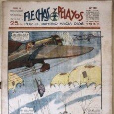 Tebeos: SEMANARIO NACIONAL N°93 FLECHAS Y PELAYOS 1938. Lote 134138370