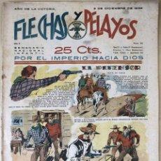 Tebeos: SEMANARIO NACIONAL N°52 FLECHAS Y PELAYOS 1938. Lote 134138771