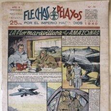 Tebeos: SEMANARIO NACIONAL N°79 FLECHAS Y PELAYOS 1938. Lote 134138961