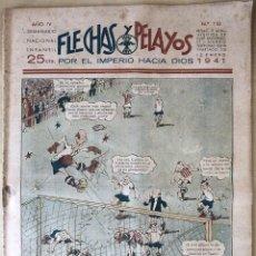 Tebeos: SEMANARIO NACIONAL °110 FLECHAS Y PELAYOS 1938. Lote 134138969