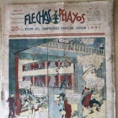 Tebeos: SEMANARIO NACIONAL N°112 FLECHAS Y PELAYOS 1938. Lote 134138978