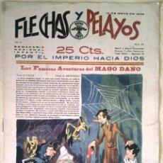 Tebeos: SEMANARIO NACIONAL N°23 FLECHAS Y PELAYOS 1938. Lote 134138997