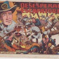 Tebeos: CUATRO CAPITANES Nº 8. GRAFIDEA 1954.. Lote 134723703