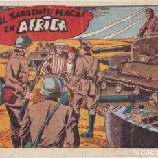 Tebeos: EL SARGENTO MACAI Nº 25. GRAFIDEA 1952. MUY ESCASO.. Lote 134723798