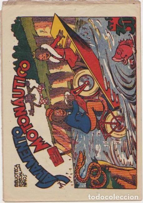 BIBLIOTECA ESPECIAL PARA NIÑOS. SALVAMENTO MOTONÁUTICO. MARCO 1942. (Tebeos y Comics - Tebeos Otras Editoriales Clásicas)