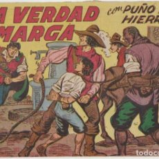 Tebeos: PUÑO DE HIERRO Nº 13. MAGA 1957.. Lote 134725874