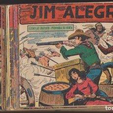 Tebeos: JIM ALEGRÍAS. MAGA 1960. COLECCIÓN A FALTA DEL Nº 41,,46,67 Y 69. VER DESCRIPCIÓN. Lote 134727685