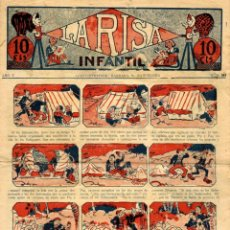 Tebeos: LA RISA INFANTIL NÚMERO 253 (MARCO, AÑO V, 1929). Lote 134742650