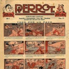 Tebeos: PIERROT NUMERO 223 (MAGIN PIÑOL, AÑO V, 1927). Lote 134820886