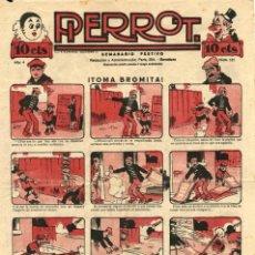 Tebeos: PIERROT NUMERO 181 (MAGIN PIÑOL, AÑO IV, 1926). Lote 134821002