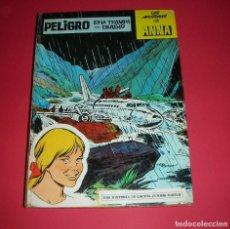 Tebeos: LAS AVENTURAS DE ANNA PELIGRO EN LA TRAMPA DEL DIABLO GACETA JUNIOR 1969, 32 PÁGINAS. Lote 135747238