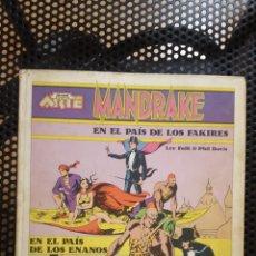 Tebeos: COMIC - COLECCION NOVENO ARTE - MANDRAKE EN EL PAIS DE LOS FAKIRES - ED. PALA. Lote 135785405