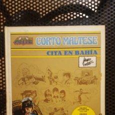 Tebeos: COMIC - COLECCION NOVENO ARTE - HUGO PRATT - CORTO MALTES - CITA EN BAHIA - ED. PALA. Lote 135811863