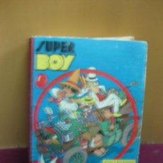 Tebeos: SUPER BOY. COLLECTION RELIÉE Nº 7. 6 NUMEROS 38 A 43. SEPTIEMBRE 1952 A FEBRERO 1953.. Lote 135891634